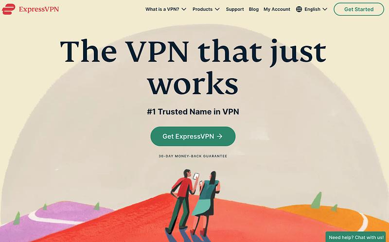 express vpn for digital nomads and expats